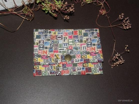 pochette origami couture