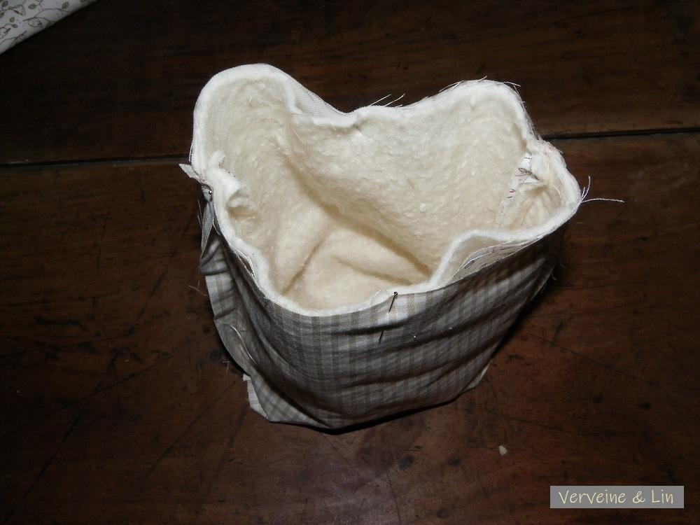 tutoriel pochette à mug verveine et lin