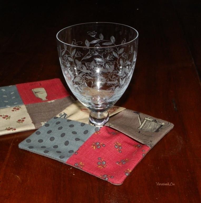 dessous de verre origami