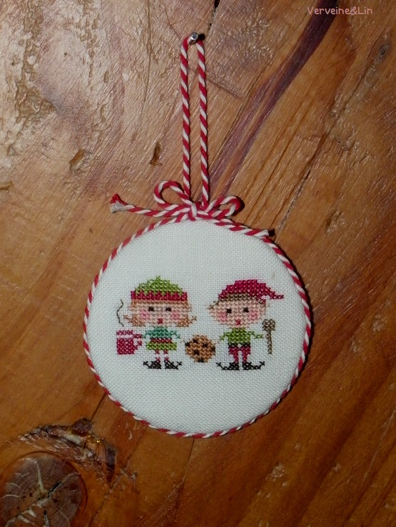 elfes gourmands point de croix lizzie kate