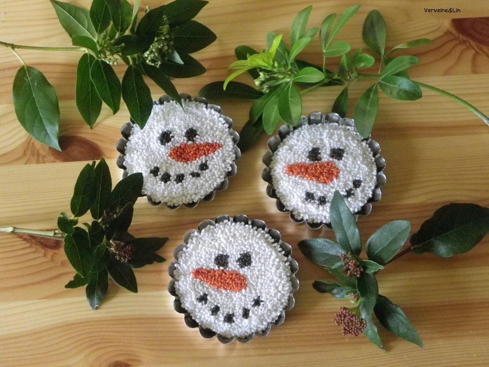 snowmen punchneedle