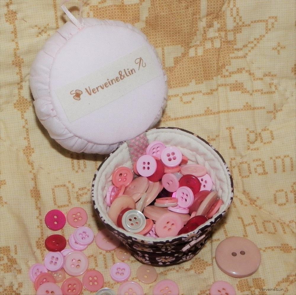 boite cupcake tissu