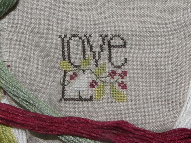 little bits of christmas de the drawn thread