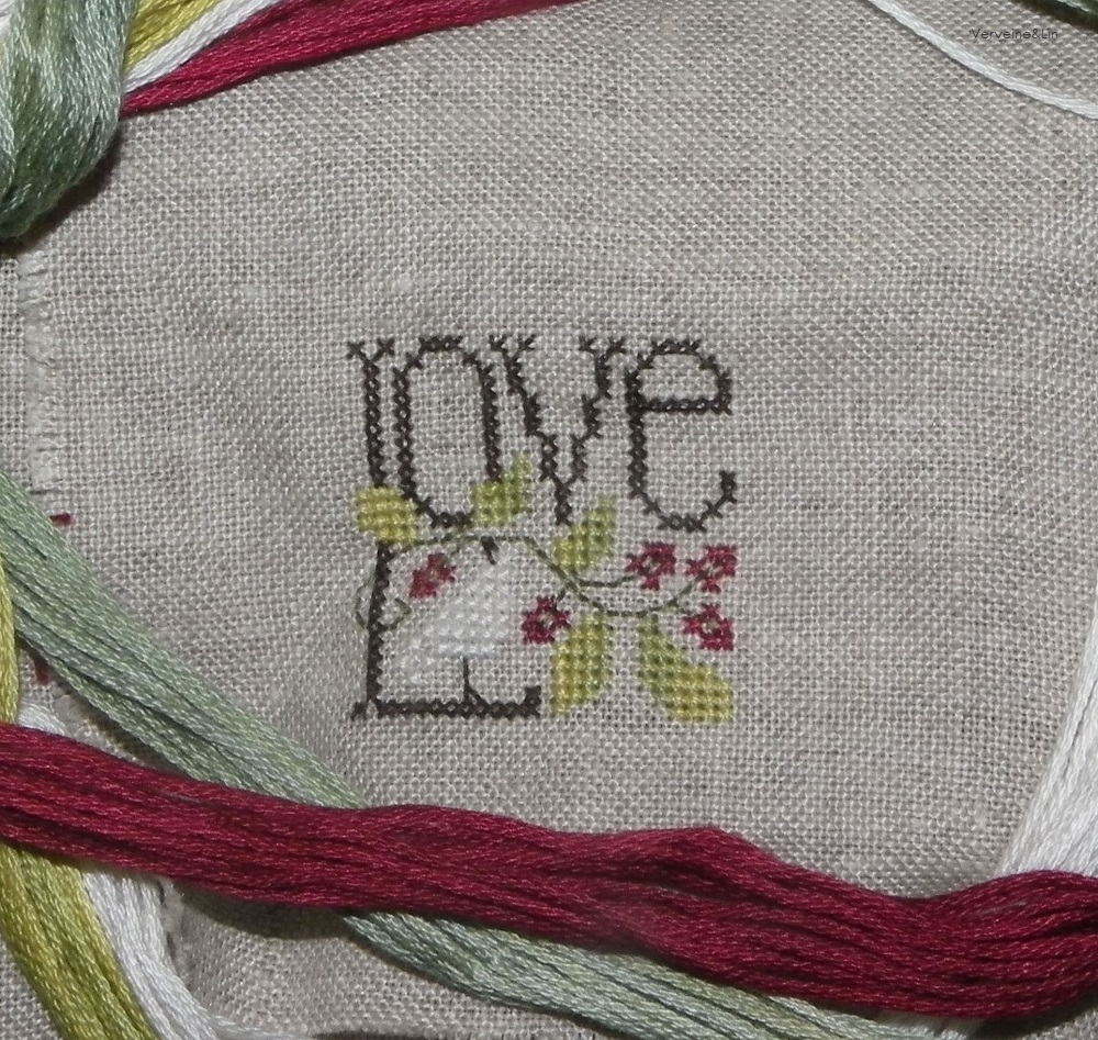 little bits of Christmas de the Drawn Thread, LOVE