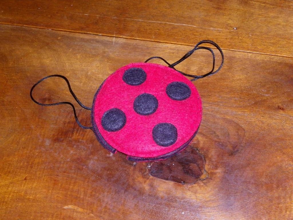 Miraculous Ladybug en feutrine