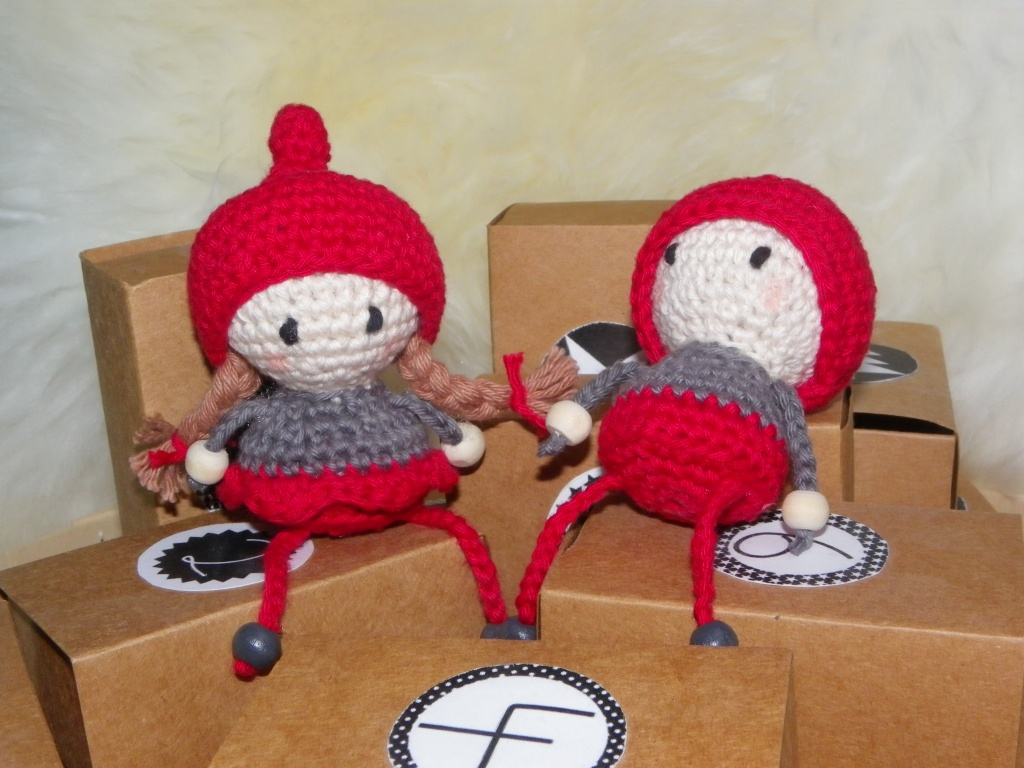 couple de lutins amigurumis