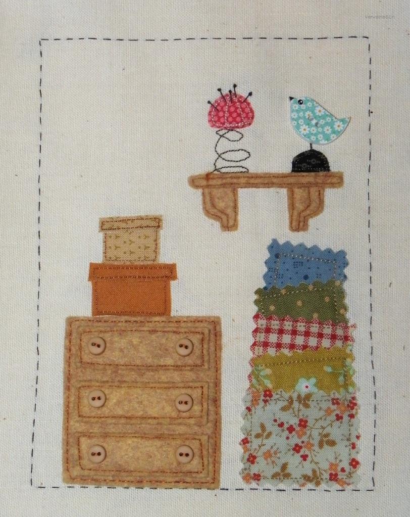 Livre textile Dans mon Atelier, page 1