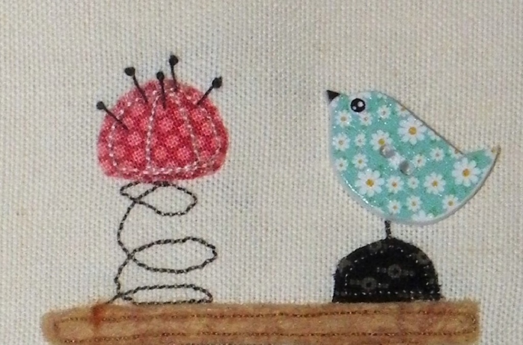 Livre textile Dans mon Atelier, détails